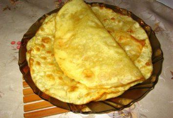 Recette shelpek: méthodes de préparation des gâteaux kazakh