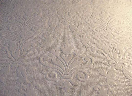 Wallpapering Pour La Peinture Comment Coller NonTiss Et Papier