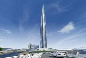 """Torre de """"Gazprom"""" em São Petersburgo: a altura, quantos andares. """"Centro de Lahti"""""""