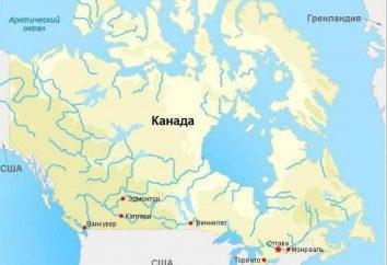Kanada Liste der Städte in der Popularität und die Zahl der