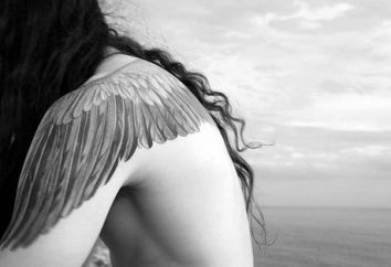 "simboli nascosti tatuaggio ""Wings"""