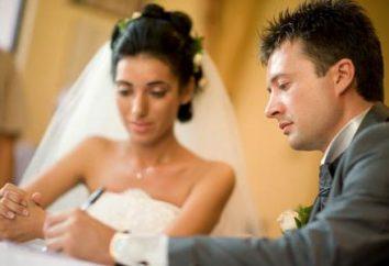 Reemplazo del pasaporte después del matrimonio con cambio de apellido