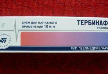 """Lek """"Terbinafine"""" (maść na grzyba paznokci): recenzje, przewodnik"""