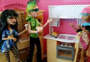 Jak zrobić jedzenie dla lalek Monster High własnymi rękami?