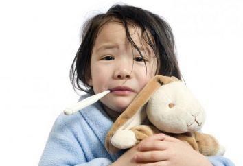 Whistling Husten bei einem Kind: Ursachen und Behandlung