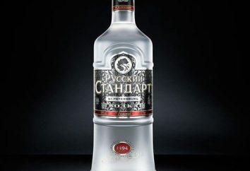 """Wódka """"Russian Standard"""". Aby uzyskać więcej informacji na temat picia"""