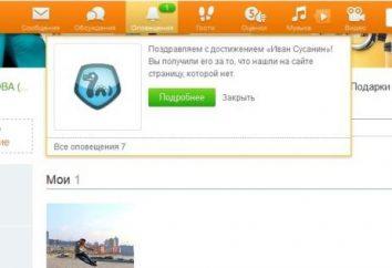 Quelles bonus une page inexistante dans Odnoklassniki