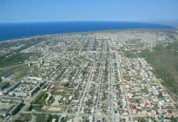 Cidade de Izberbash: férias no mar, alojamento e entretenimento para turistas