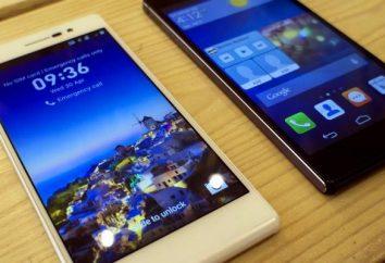 Huawei Ascend P7 Smartphone: opiniones, especificaciones y especificaciones