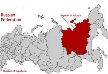 Cativante de caça e pesca em Yakutia