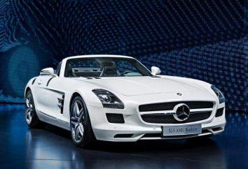 Mercedes SLS: commentaires, spécifications techniques