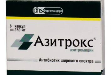"""""""Azitroks"""": opinie. Tabletki """"Azitroks"""": świadectwo"""