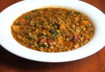 Uma receita simples para sopa de lentilha em diversas variações