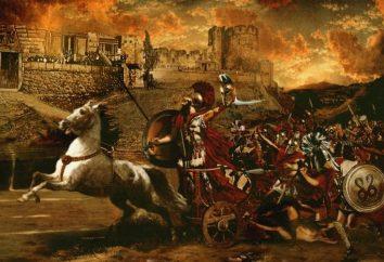 """Podsumowanie """"Iliady"""" Homera: interpretacja artystyczna wojny trojańskiej"""