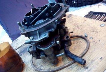 Carburador K-151: controle do dispositivo, recursos e circuito de realimentação