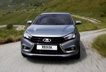 Lada Vesta: specyfikacje, zdjęcia