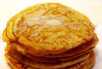 Como cozinhar panquecas sem leite: várias opções básico