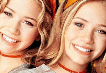Films avec les jumeaux: « Une nounou d'enfer » Film 1994 « vacances au soleil », « moi et mon ombre. » jumeaux Acteurs