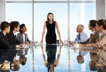 Przykładowe cechy szefa organizacji