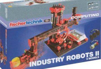 Robot industriel. Robots au travail. Machines-robots