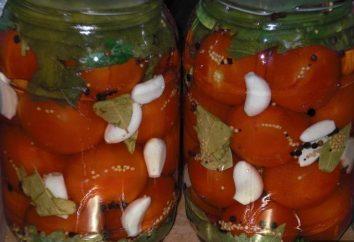 Page tomates marinées: recette maison