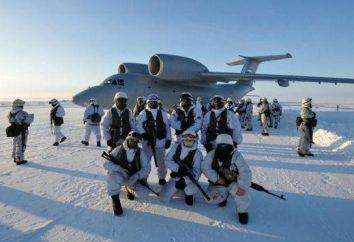 Arctique troupes russes: l'équipement, la forme, photo