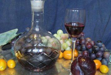 Nous faisons du vin à la maison prune