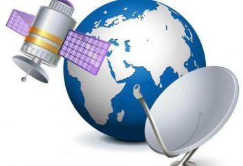 Conjunto de televisión por satélite: composición