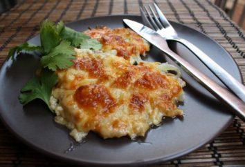 Costeletas com tomates e queijo, cozido no forno: receitas simples
