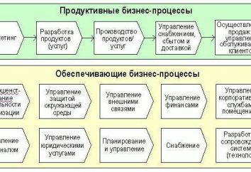 Geschäftsprozesse: Beispiele und die Beschreibung