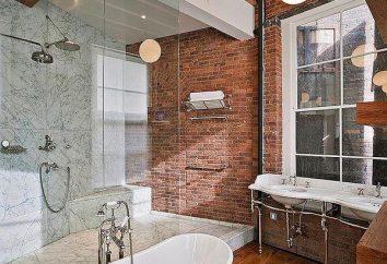 Łazienka, strych-style: pomysły na wystrój wnętrz
