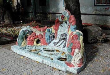 Mozaika dziedziniec (St. Petersburg): bajki, wykonane przez dzieci