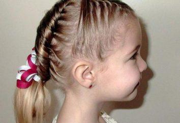 Frisuren Kinder auf mittleres Haare (Foto)