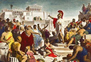 Les gens dans la Grèce antique: la définition, le lieu, l'autorité