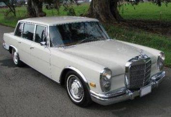 Mercedes 600, la voiture légendaire du passé