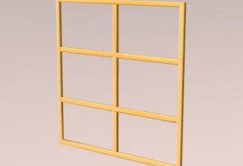 Stolarka. Ramy okienne są drewniane. Ramy okienne własnymi rękami