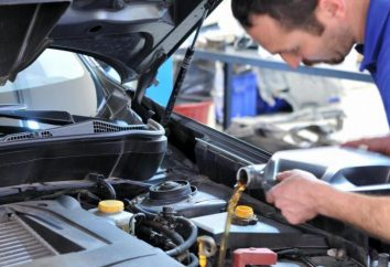 Cambio de aceite en el coche – en la estación o en el plazo?