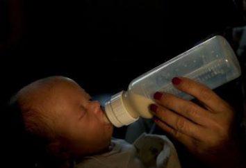 L'alimentation des enfants à 1 an: seulement des produits utiles