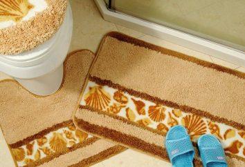 Tapetes adequados para o banheiro e vaso sanitário – uma promessa de excelente saúde e bom humor