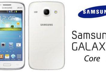 O carro-chefe da Samsung Galaxy Núcleo: avaliação e feedback
