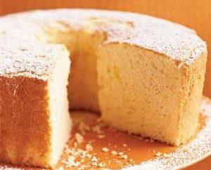 Szyfon biszkopt przepis: podstawą dla bujnej ciasto