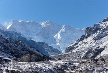 Azja Góry: największa wysokość Ziemi
