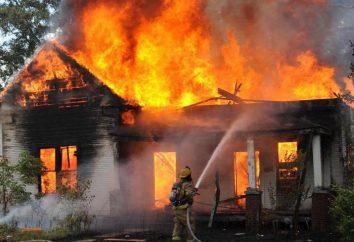 Chamada Ponto IP 212 45 – próprio fogo na casa