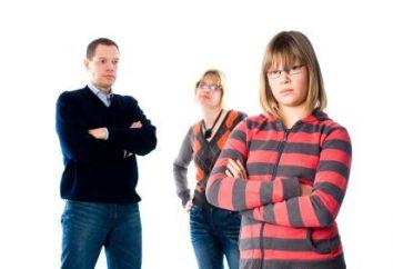 E se i bambini non ascoltano i loro genitori?