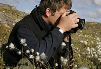 Jakie słowa konsekwentnie używa fotografa podczas pracy?