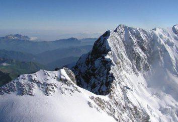 Dove si trova il Monte Shkhara? La sua altezza, descrizione