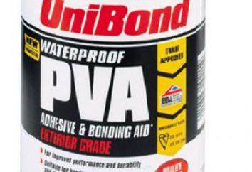PVA Klebstoff – Zusammensetzung. Technische Eigenschaften des Klebstoffs