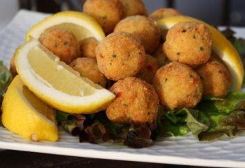 Várias receitas de como cozinhar almôndegas de peixe