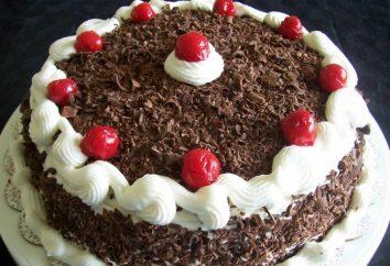 Tort Czarnego Lasu: krok po kroku przepis. Czarny Las Cherry Cake