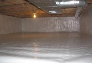 Uszczelniania ścian i podłogi pracy